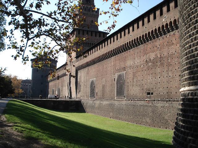 Castelo Sforzesco, em Milão