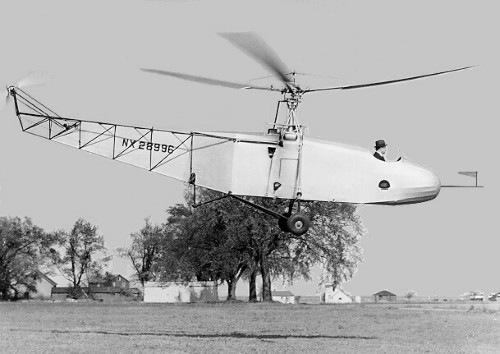 VS-300 - O 1° Helicóptero