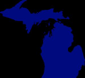 Actual Map of Michigan
