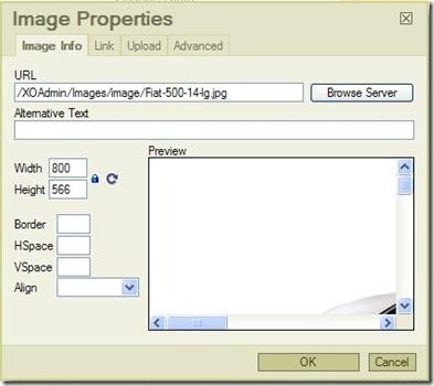 Set Full Image Path in FCK Editor
