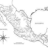 Hidrografía México