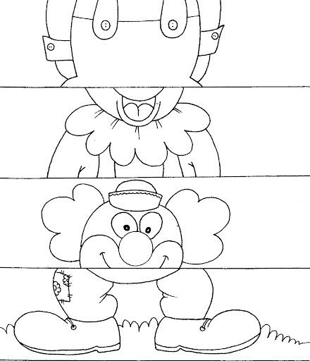 Rompecabezas de cuatro piezas para imprimir - Imagui