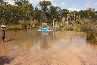 4x4 Deep Ford, Old Telegraph Track, Cape York