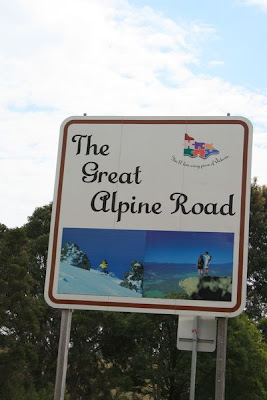 Great Alpine Road Victoria Australia