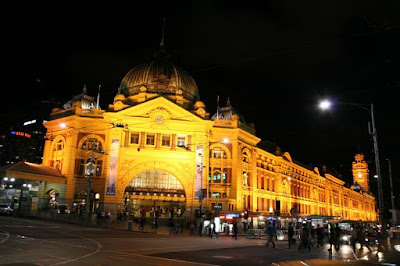 Melbourne Flinders Street Station Victoria Australia