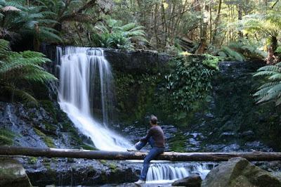 Horseshoe Falls Tasmania Australia