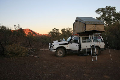 Camping The Flinders Ranges South Australia