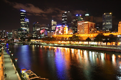 Melbourne Night Victoria Australia