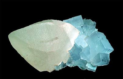 Fluorita y calcita