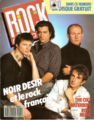 Noir Désir en couverture de Rock & Folk en 1989
