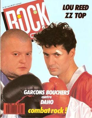 Etienne Daho en couverture de Rock & Folk en 1989