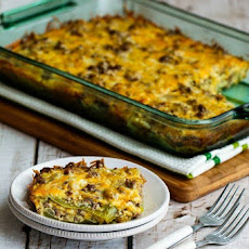 Beefy and Cheesy Low-Carb Green Chile Bake (Gluten-Free)