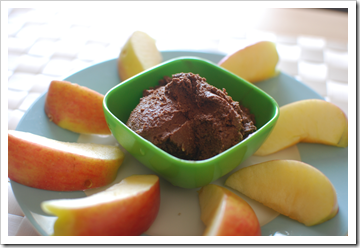 Chocolate Hazelnut Hummus