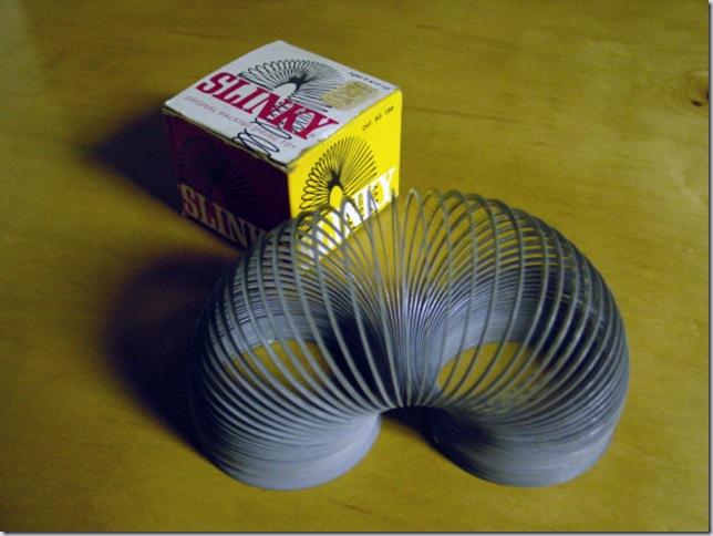 Original metal Slinky!