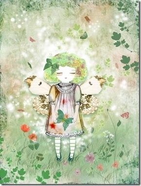 Artisans Gallery Team Munieca Lady Butterfly