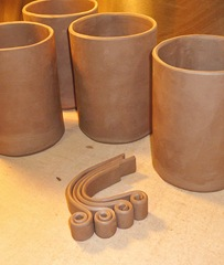 glazedOver curly mugs in progress