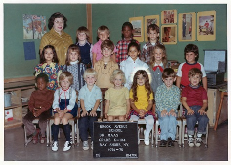 Bay Shore Kindergarten 1974
