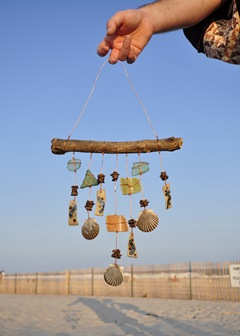 shards and shells windchime 6