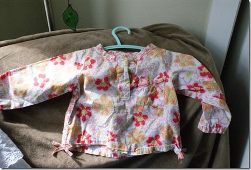 flower shirt 12 mos