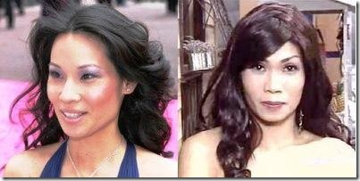 Pokwang is Lucy Liu