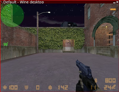Counter-Strike in normaler Grafik
