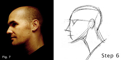 How to draw a head-step 2-figure7
