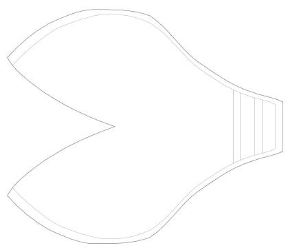 Foam fiberglass armor a quiet path shoulder pattern shoulder pattern vector maxwellsz