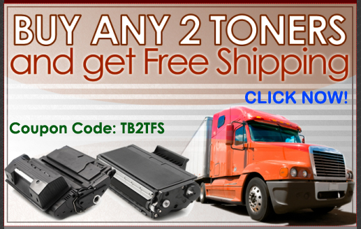 2 Toners equals Free Shipping