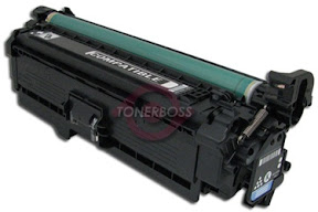 HP CE250A Premium Compatible Black Laser Toner Replacement Cartridge