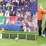 Les supporters algériens au stade dès? 16h !
