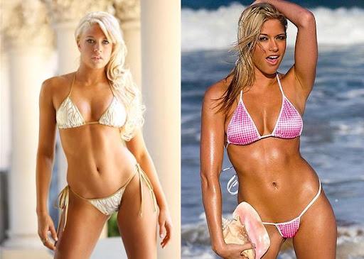 Wwe diva cherry in a bikini