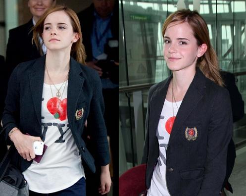 emma watson fashion. Emma Watson in Heathrow
