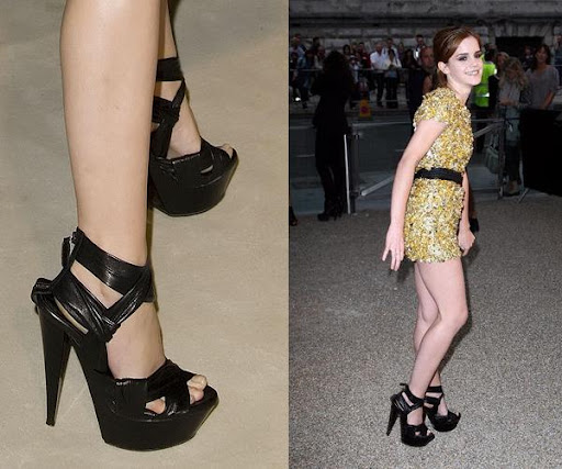 feet of actress emma watson
