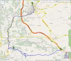 Ruta des de Millau fins a l'Hospitalet passant per Roquefort