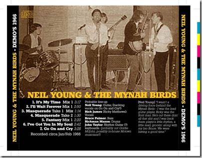 1340 - Mynah Birds Studio - 1966 - 2a