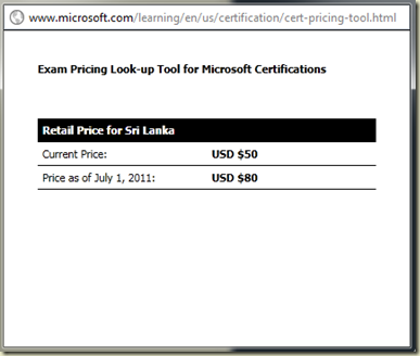 Dinesh\'s Blog :::: Being Compiled ::::: New Prices for Microsoft ...