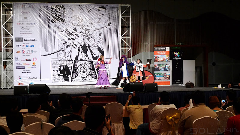 Comic Fiesta Day 1 stage performance