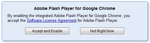 Google Chrome mit Flash