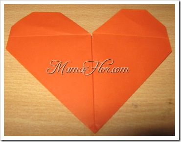 Cómo hacer un Corazón de Papel con Mensaje de Amor y Amistad