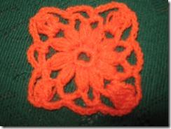 Crochet | Pastilla cuadrada con Puntos Unidos