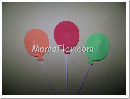 Como hacer globos para decorar la habitacion de los nenes