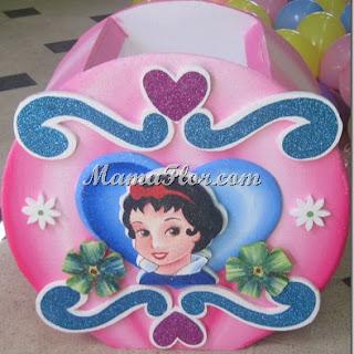 Caja Porta Regalos para Fiesta Infantil | Princesas Disney