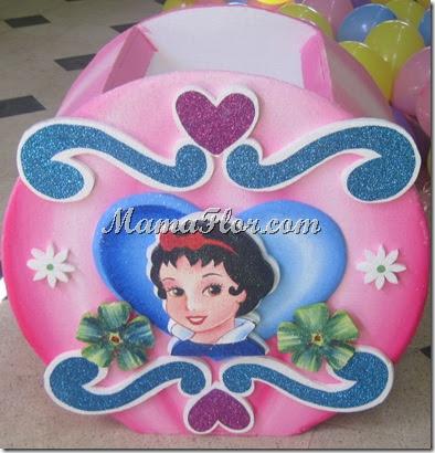 Caja porta regalos para fiesta infantil princesas disney - Fiestas infantiles princesas disney ...