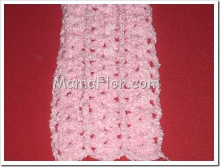 Tejido a Crochet: Punto Conchita con Alto Relieve