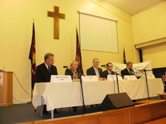 Hustings debate GE 2010 beginning of meeting