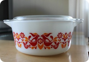 red pyrex