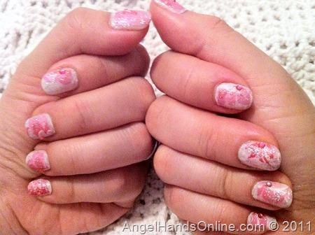 Nail Art - Pink Design