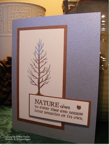 Embossed Tree for Raymond
