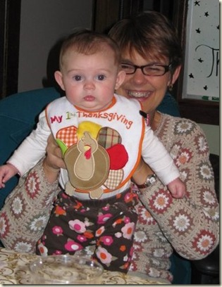 Cassidy's First Thanksgiving