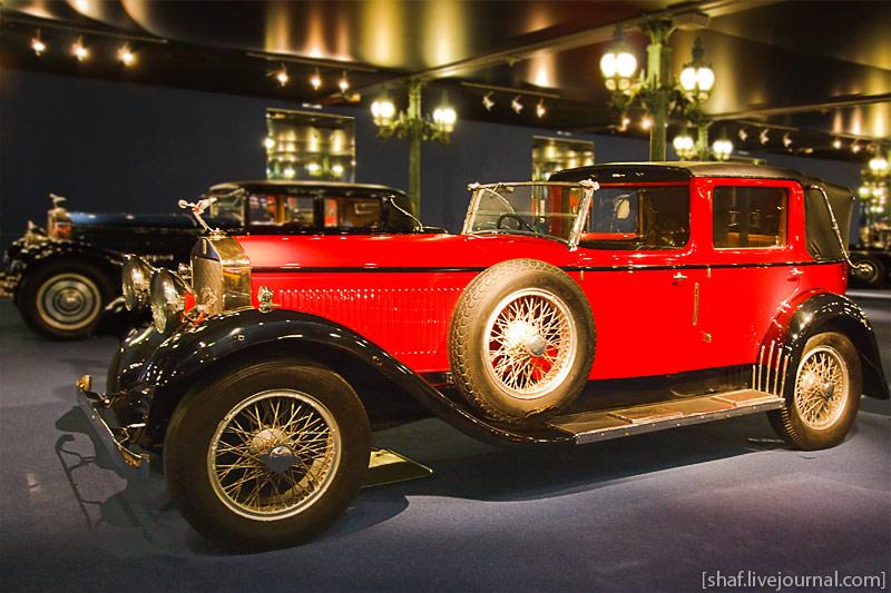 Автомузей; Национальный музей автомобилей, Мюлуз (Mulhouse), Франция; sotta-Fraschini, Berline Tipo 8A, 1925